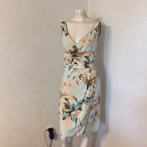 Tommy Bahama Hawaiian Flower Silk Dress 2